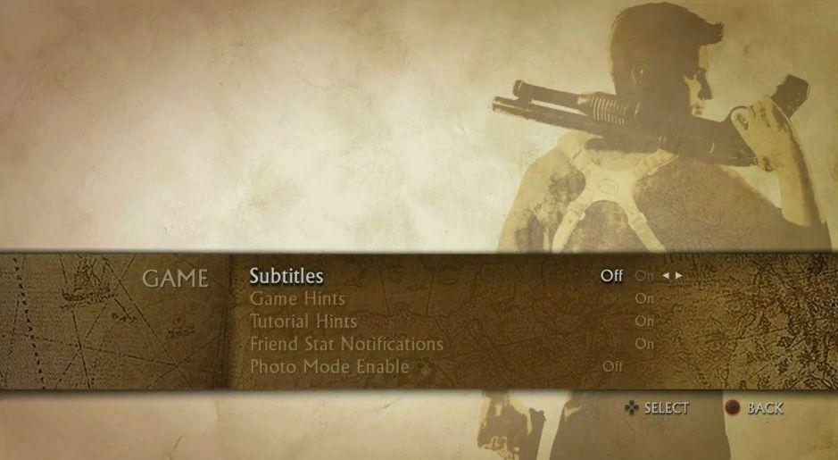 Uncharted: The Nathan Drake Collection má elegantní menu 114019