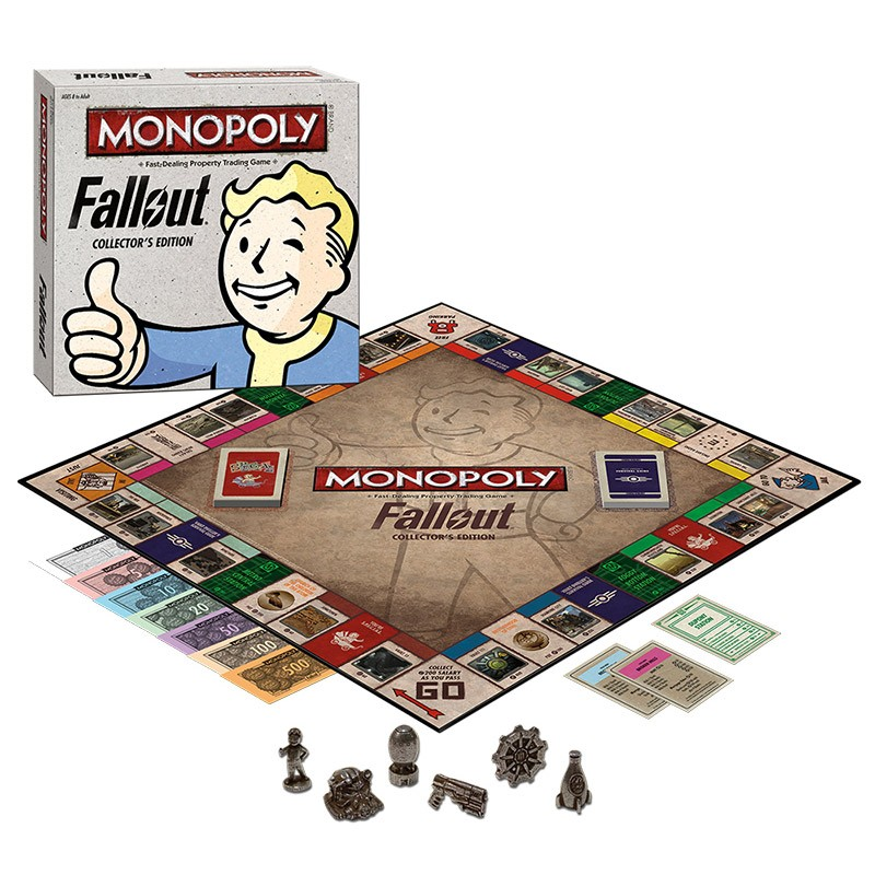 Jak vypadá desková hra Monopoly s motivy Falloutu? 114099
