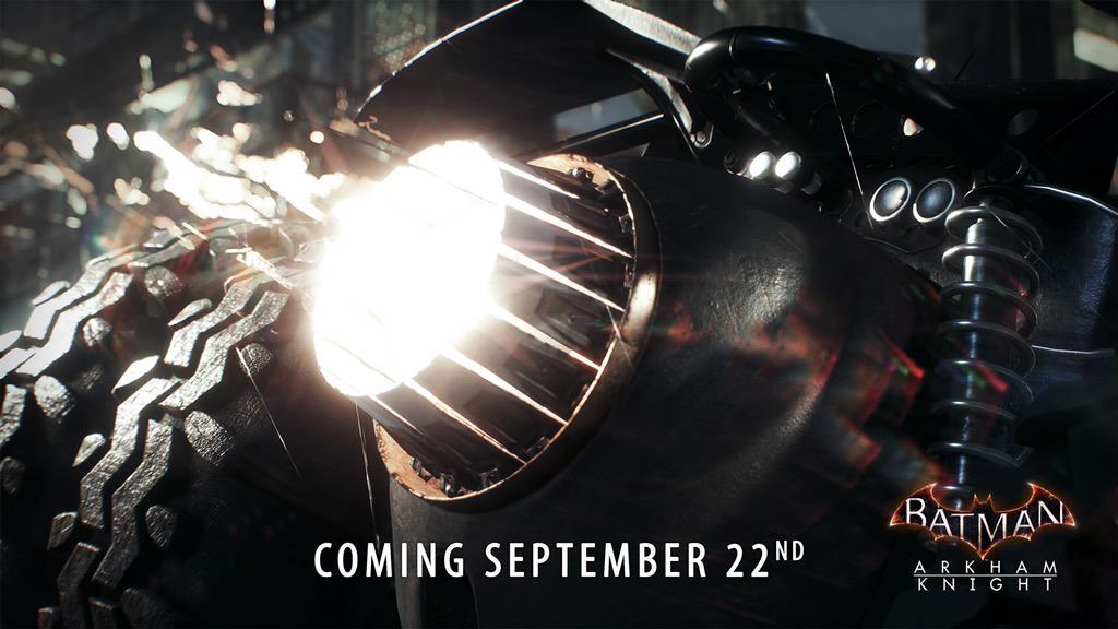Do Batman: Arkham Knight se blíží nový Batmobil 114151