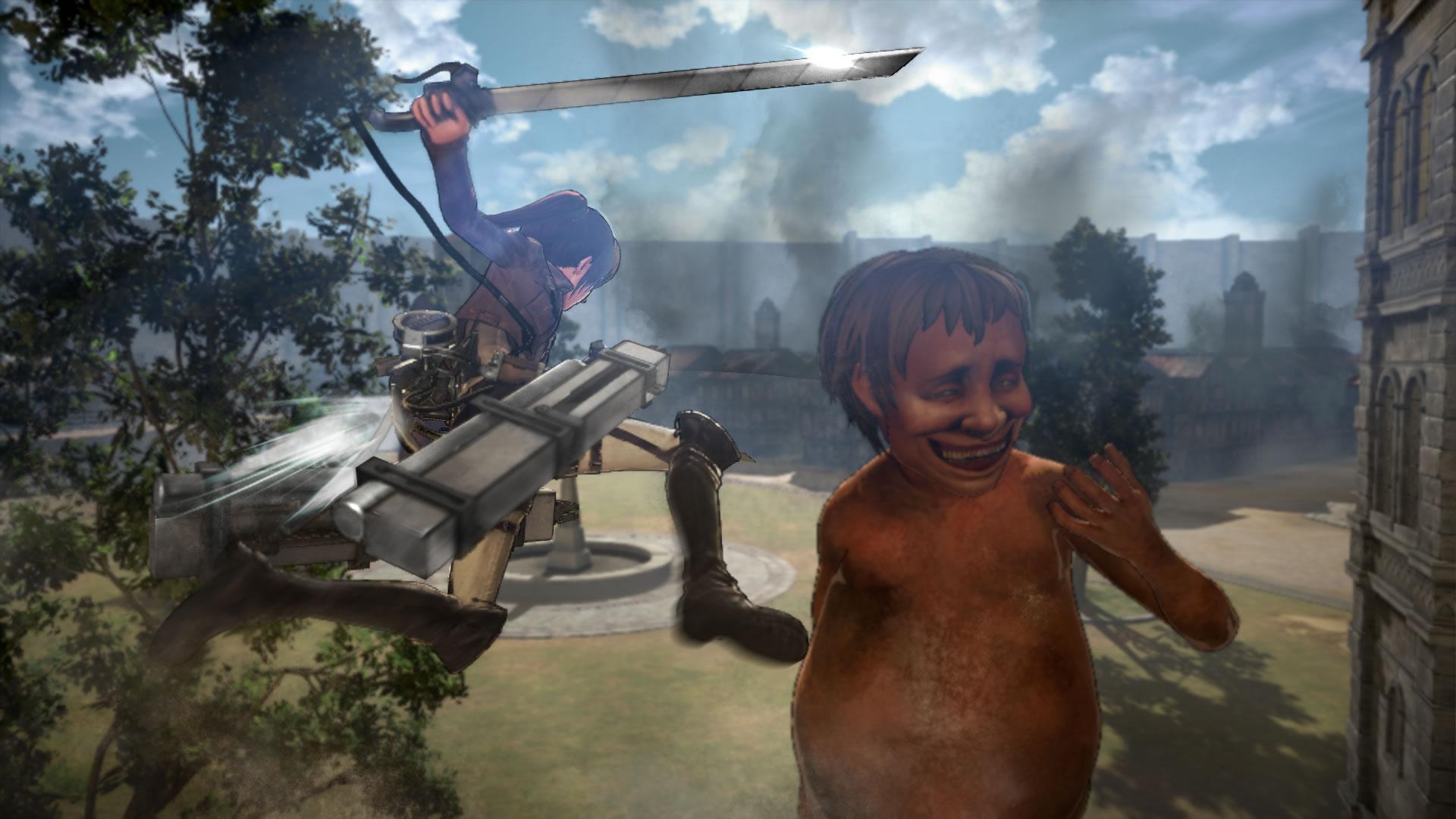 Attack on Titan na záběrech z TGS 114198