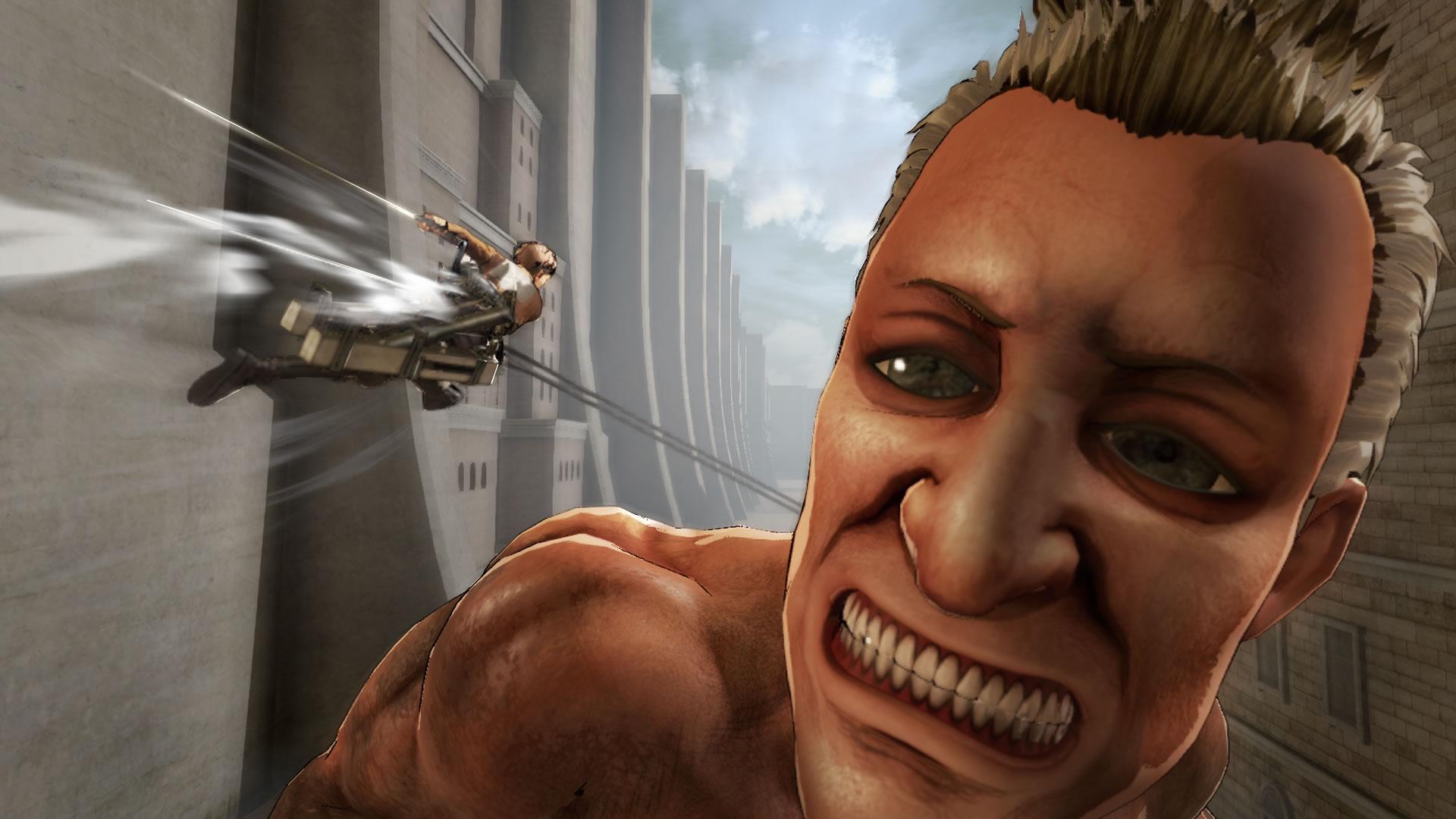Attack on Titan na záběrech z TGS 114199