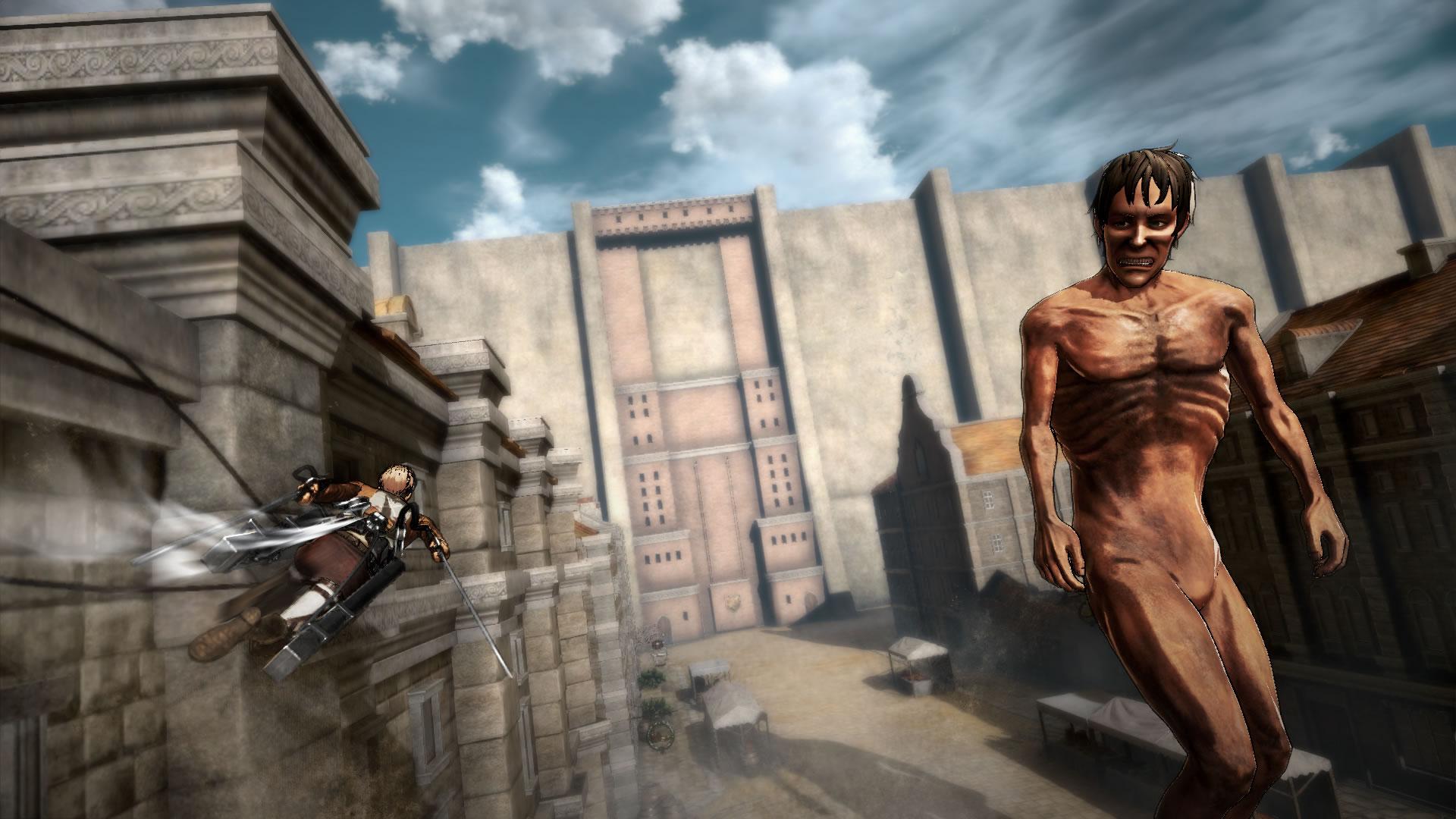Attack on Titan na záběrech z TGS 114200
