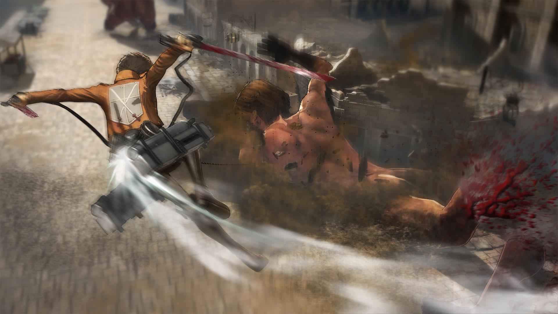 Attack on Titan na záběrech z TGS 114202