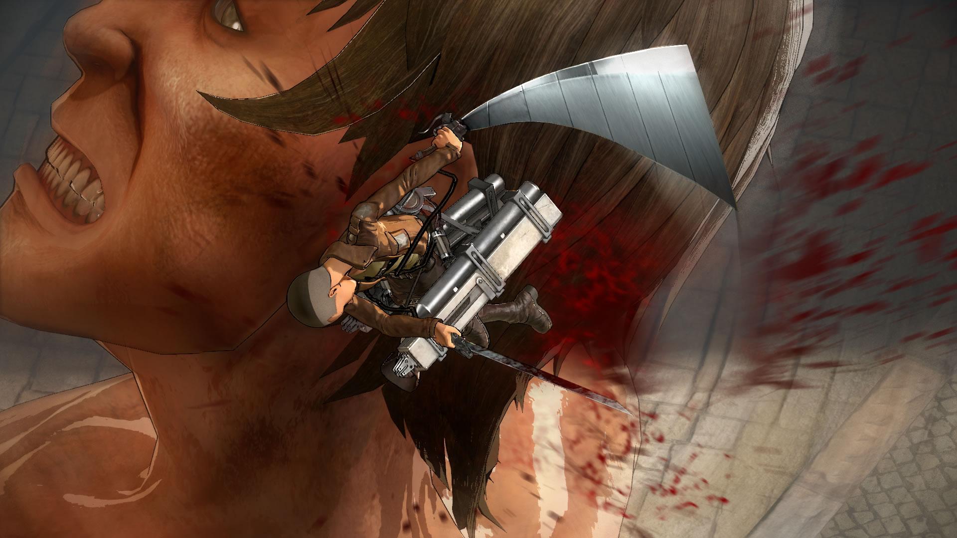 Attack on Titan na záběrech z TGS 114203