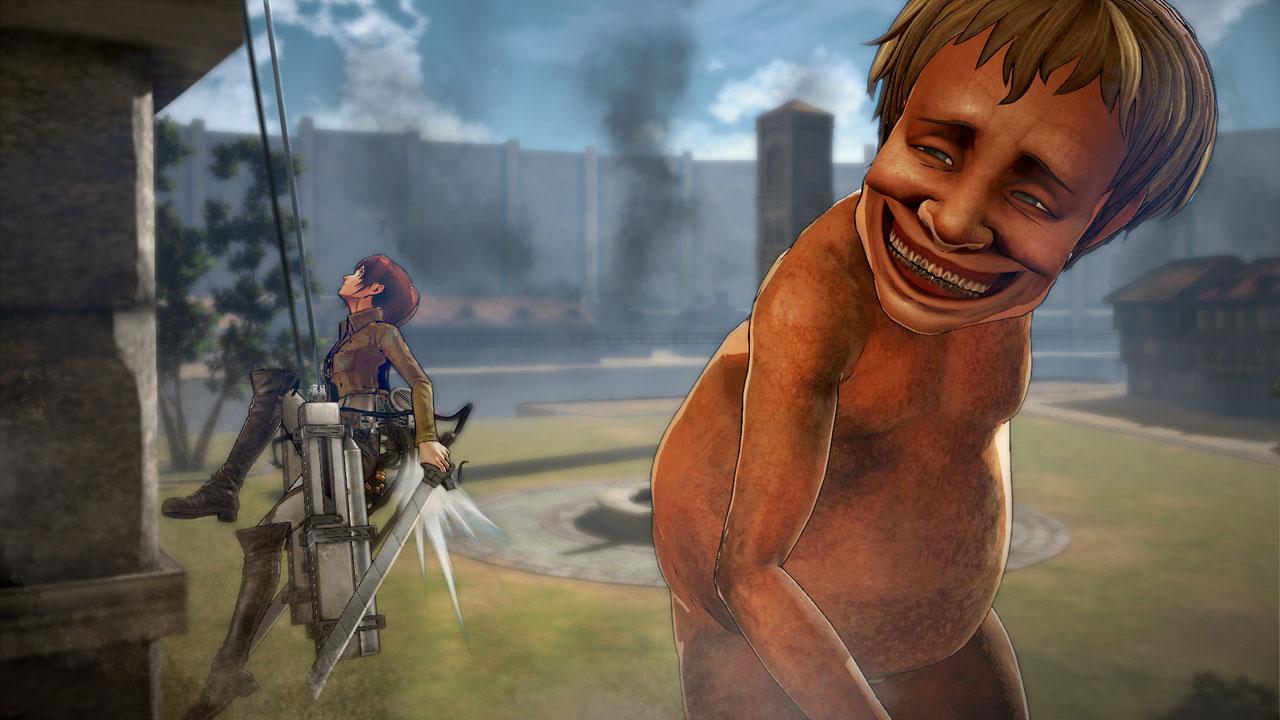 Attack on Titan na záběrech z TGS 114204