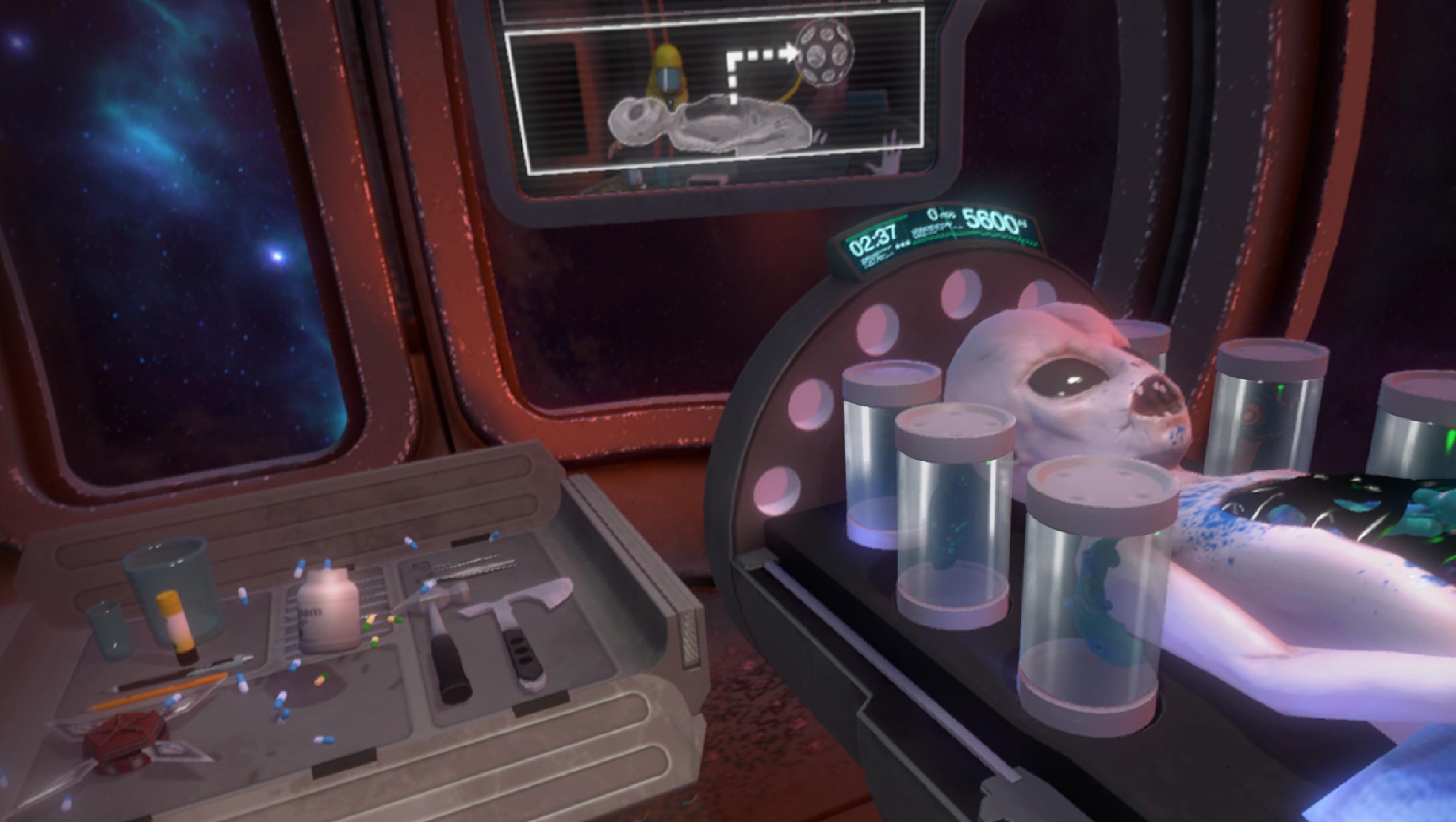 Operace mimozemšťana v novém Surgeon Simulatoru 114327