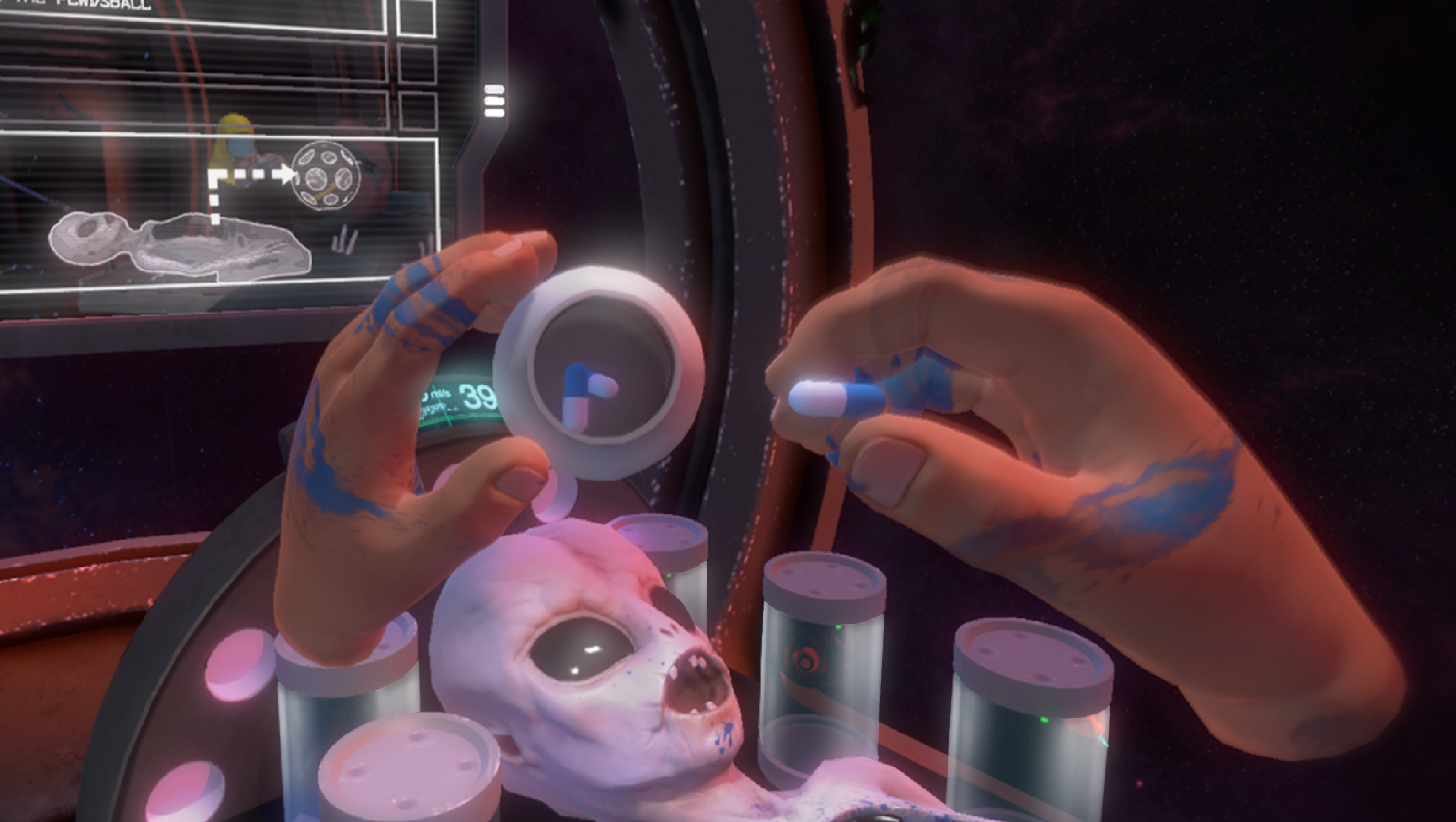 Operace mimozemšťana v novém Surgeon Simulatoru 114328