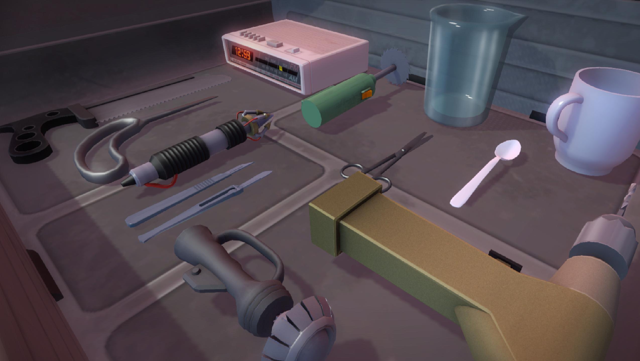 Operace mimozemšťana v novém Surgeon Simulatoru 114331