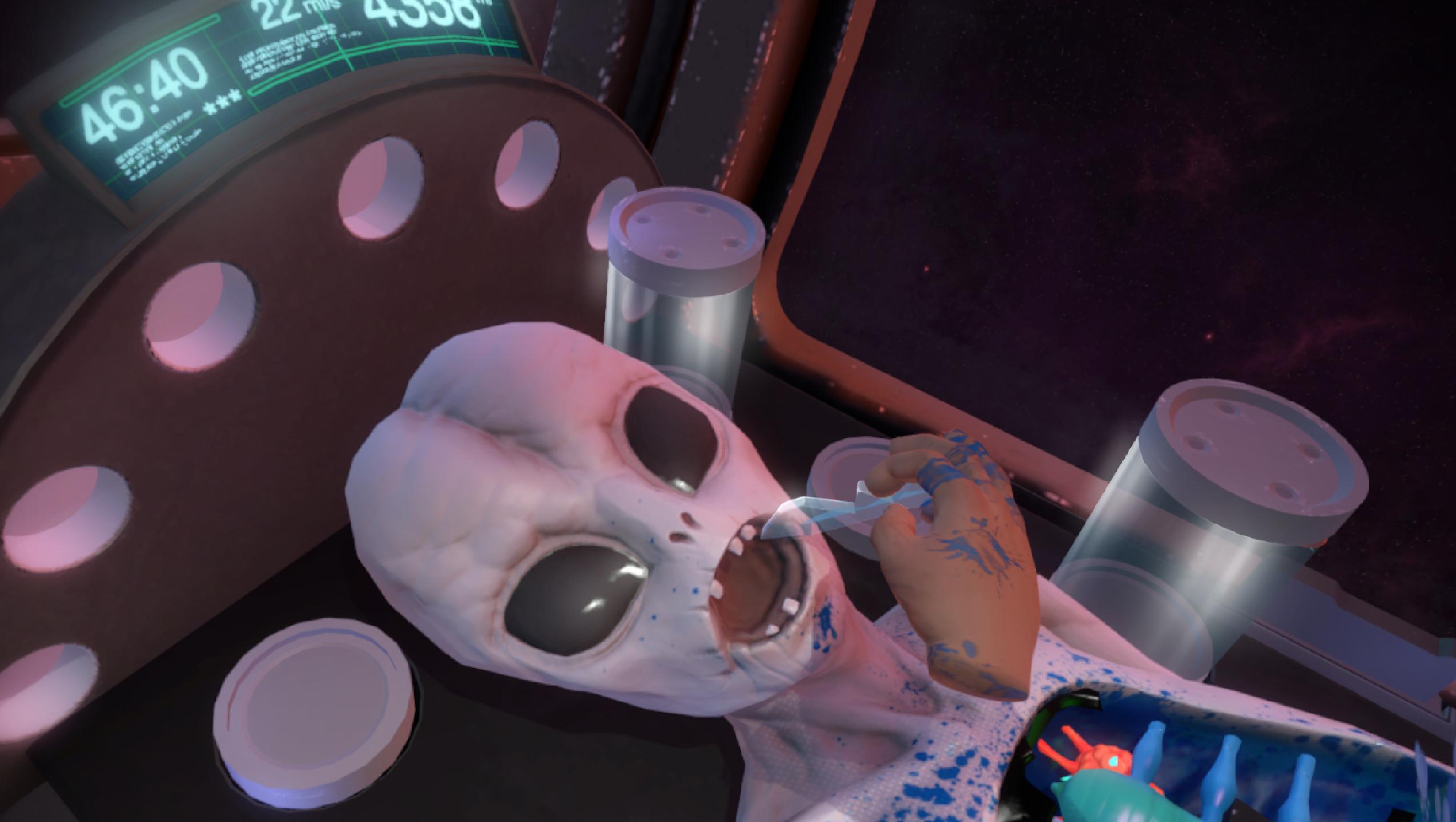 Operace mimozemšťana v novém Surgeon Simulatoru 114332