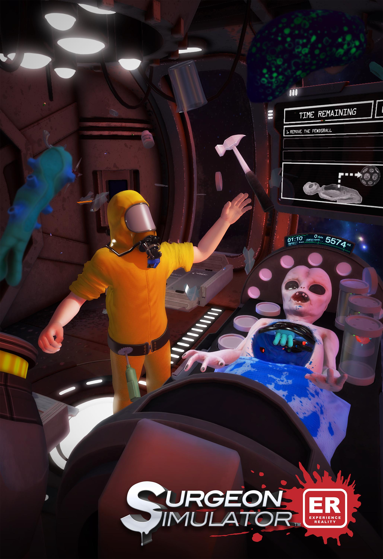 Operace mimozemšťana v novém Surgeon Simulatoru 114336
