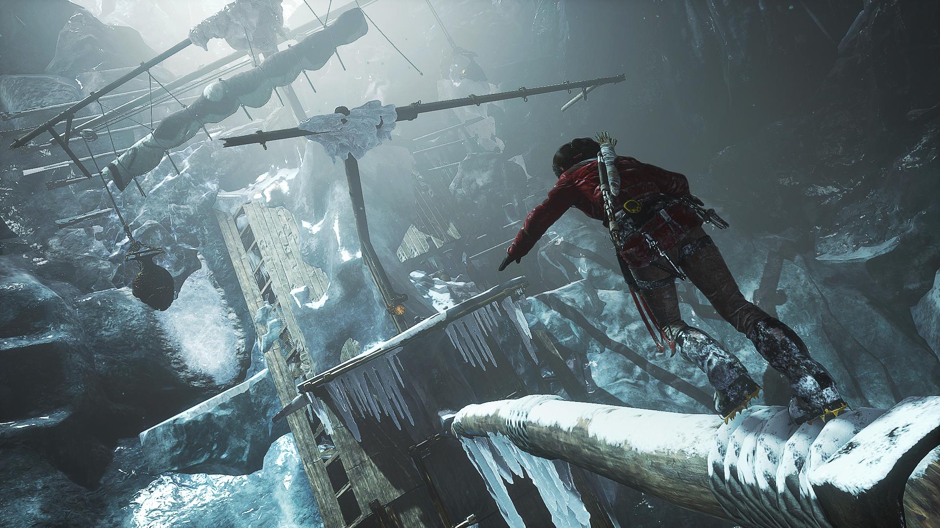Další gameplay záběry z Rise of the Tomb Raider 114376