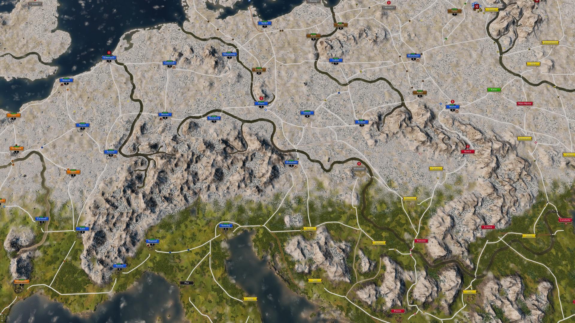 Grand Ages: Medieval – šedivá strategie 114388