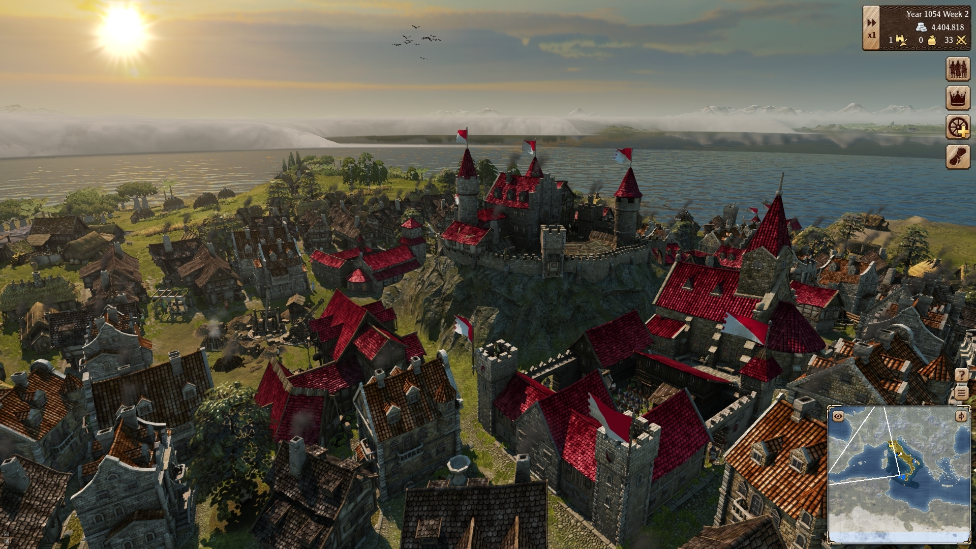 Grand Ages: Medieval – šedivá strategie 114392