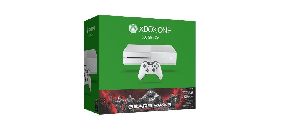 Xbox One v bílém provedení s Gears of War: Ultimate Edition 114513