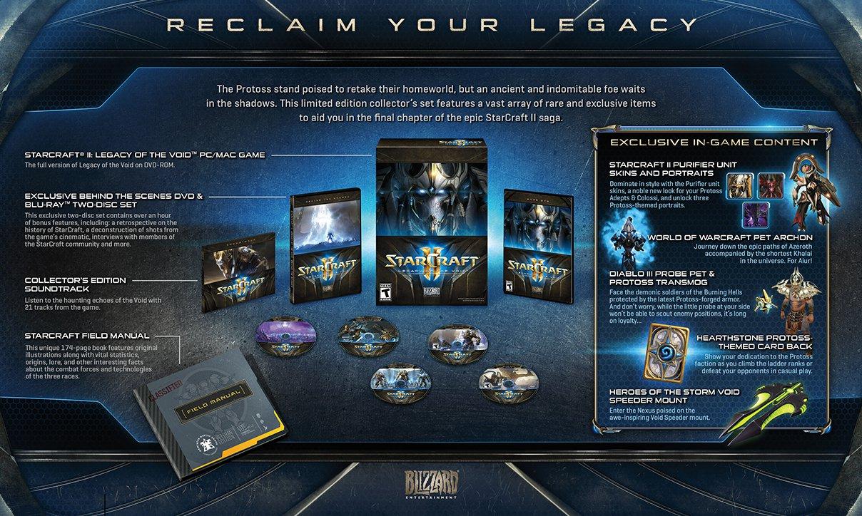 Odhalena sběratelská edice StarCraft 2: Legacy of the Void 114556