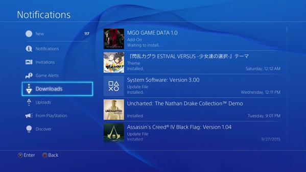 Metal Gear Online update má jen 950 MB 114588