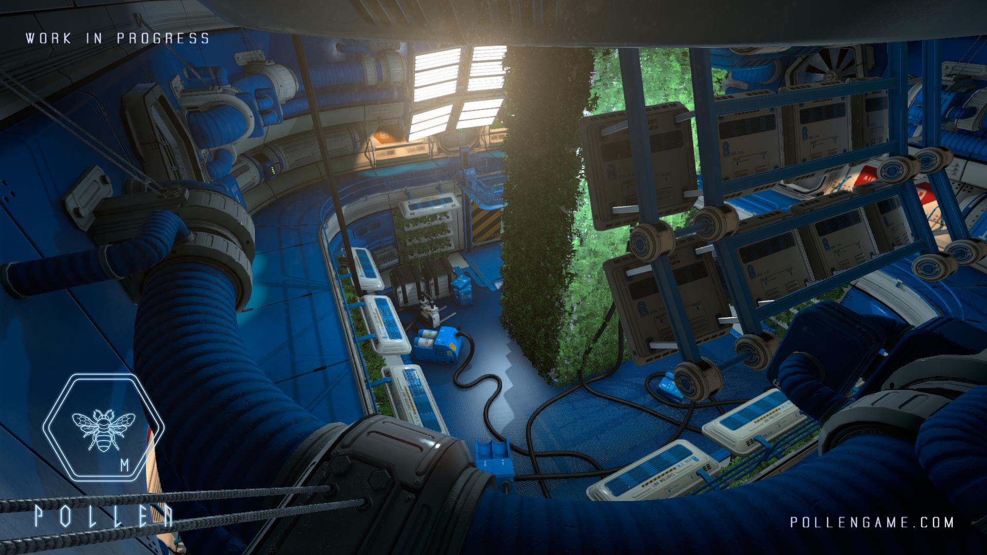P·O·L·L·E·N vypadá na Dead Space 3 říznutý Alien Isolation 114659
