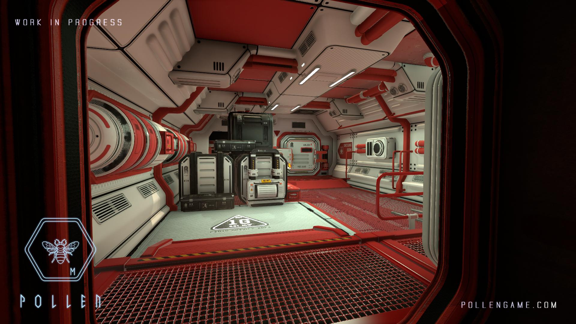 P·O·L·L·E·N vypadá na Dead Space 3 říznutý Alien Isolation 114663
