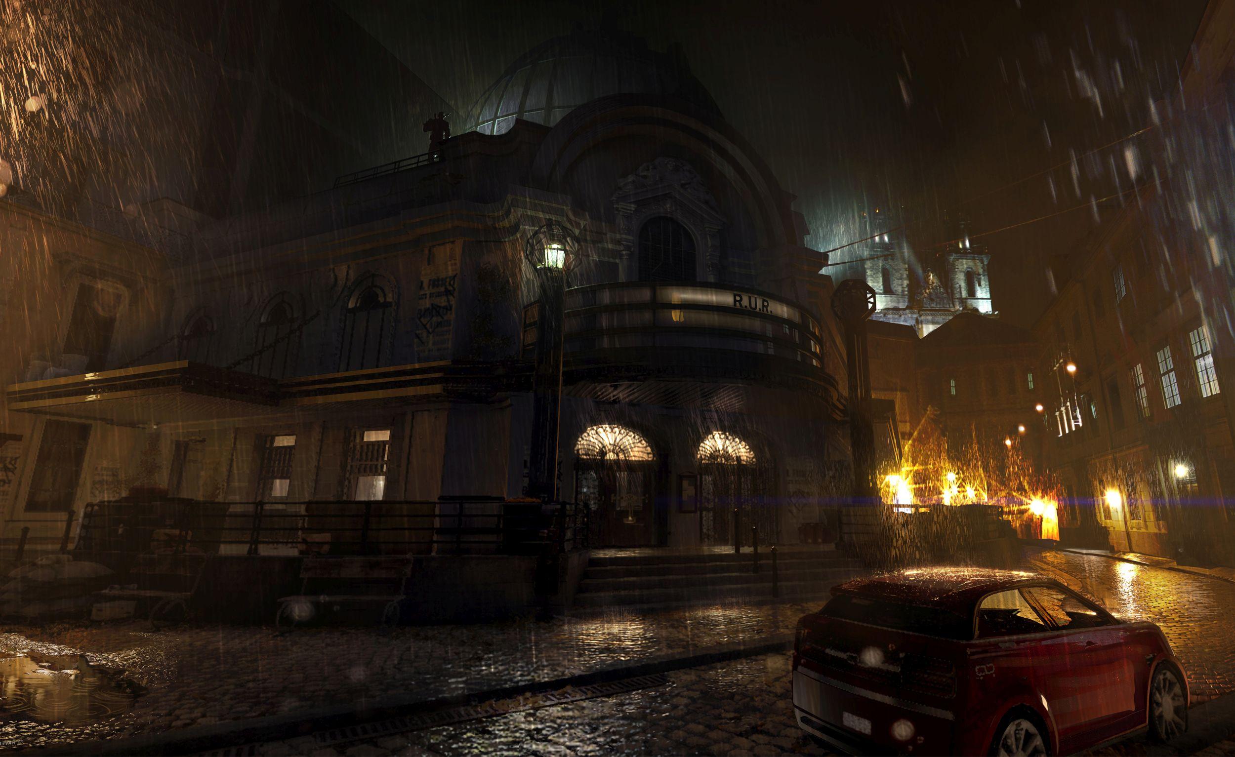 Nové gameplay záběry z Deus Ex: Mankind Divided 114688