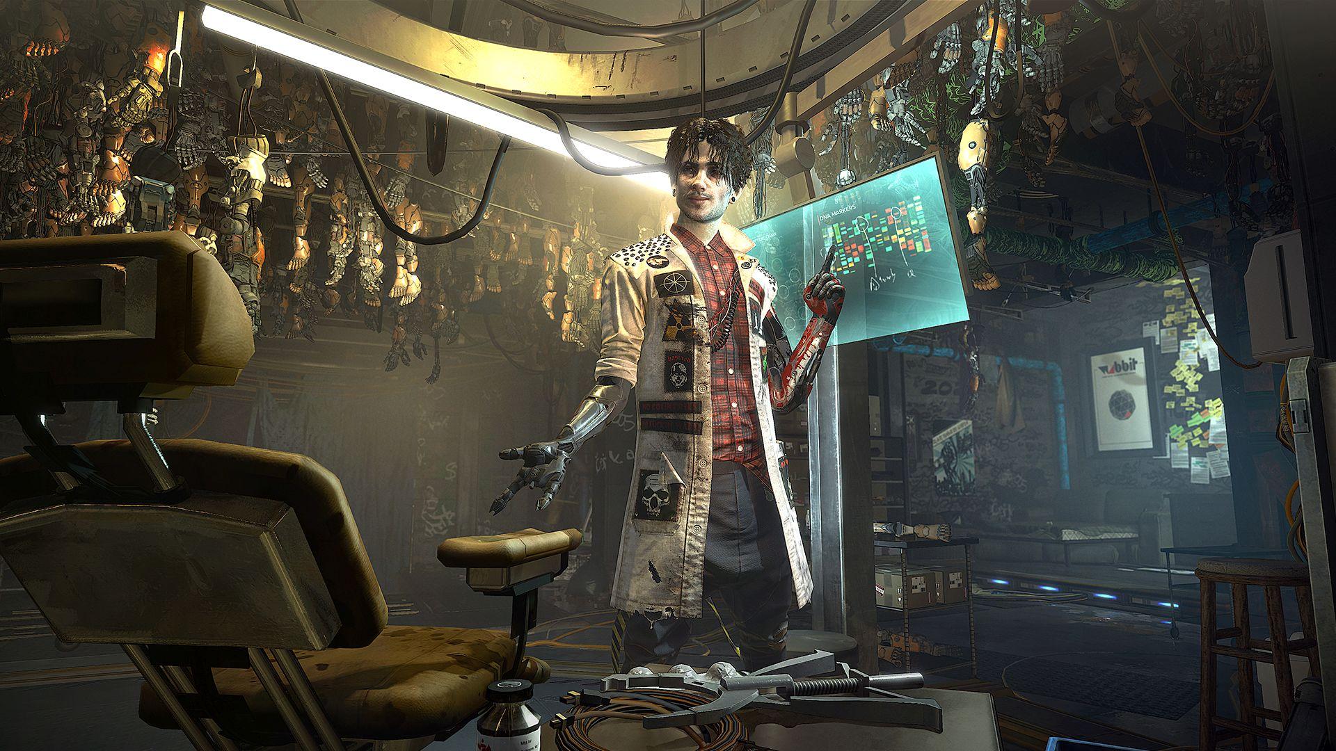 Nové gameplay záběry z Deus Ex: Mankind Divided 114689