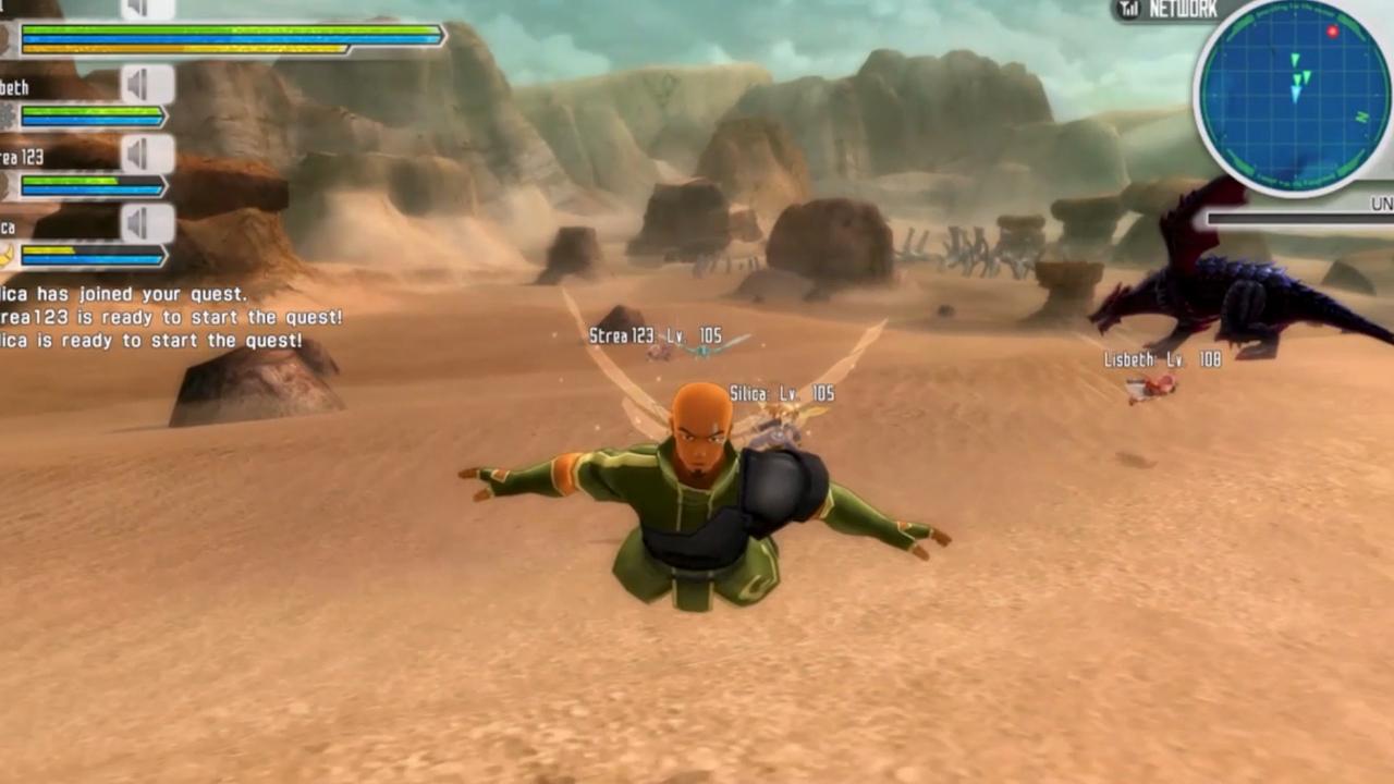 Sword Art Online: Lost Song v multiplayerovém traileru 114698