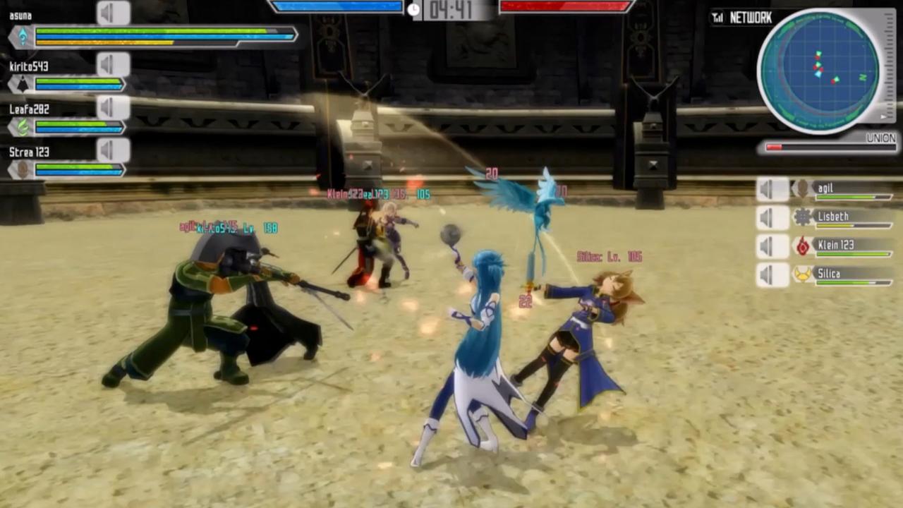 Sword Art Online: Lost Song v multiplayerovém traileru 114699