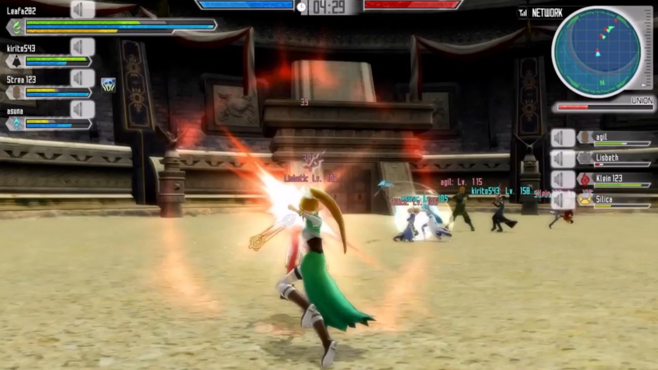 Sword Art Online: Lost Song v multiplayerovém traileru 114700