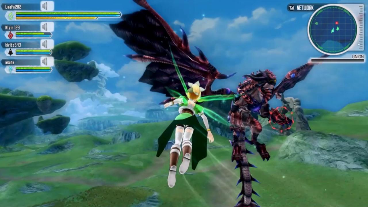 Sword Art Online: Lost Song v multiplayerovém traileru 114702