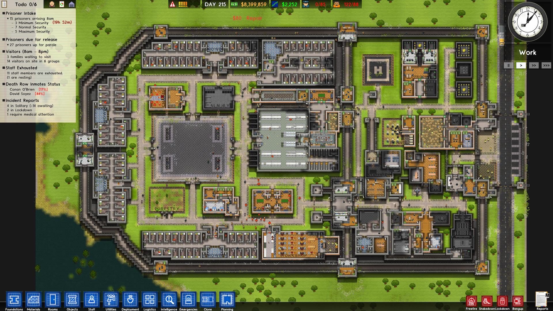 Prison Architect - tycoon z vězení 114719
