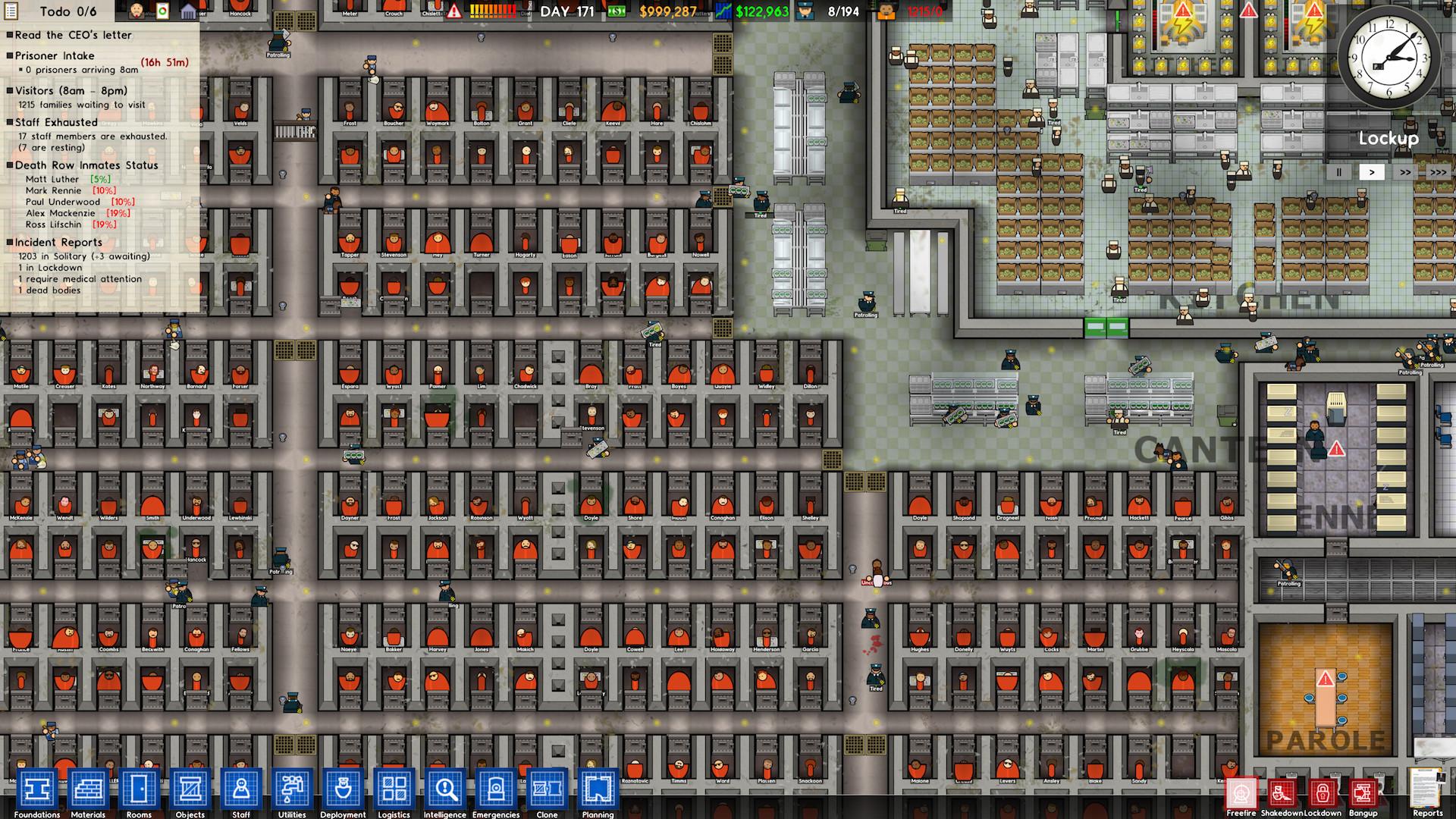Prison Architect - tycoon z vězení 114720