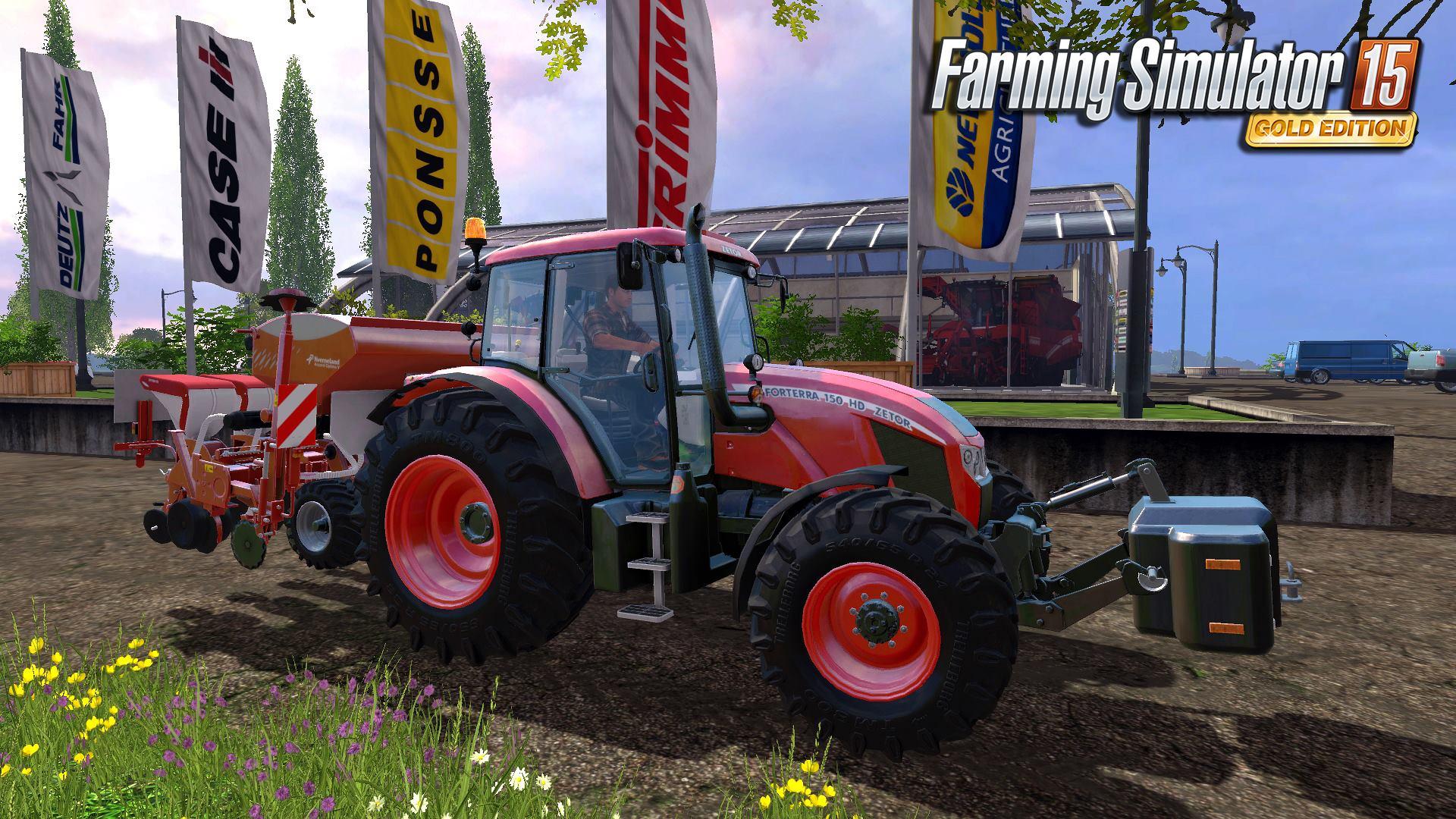 Čtyři obrázky z Farming Simulatoru 15 GOLD 114726
