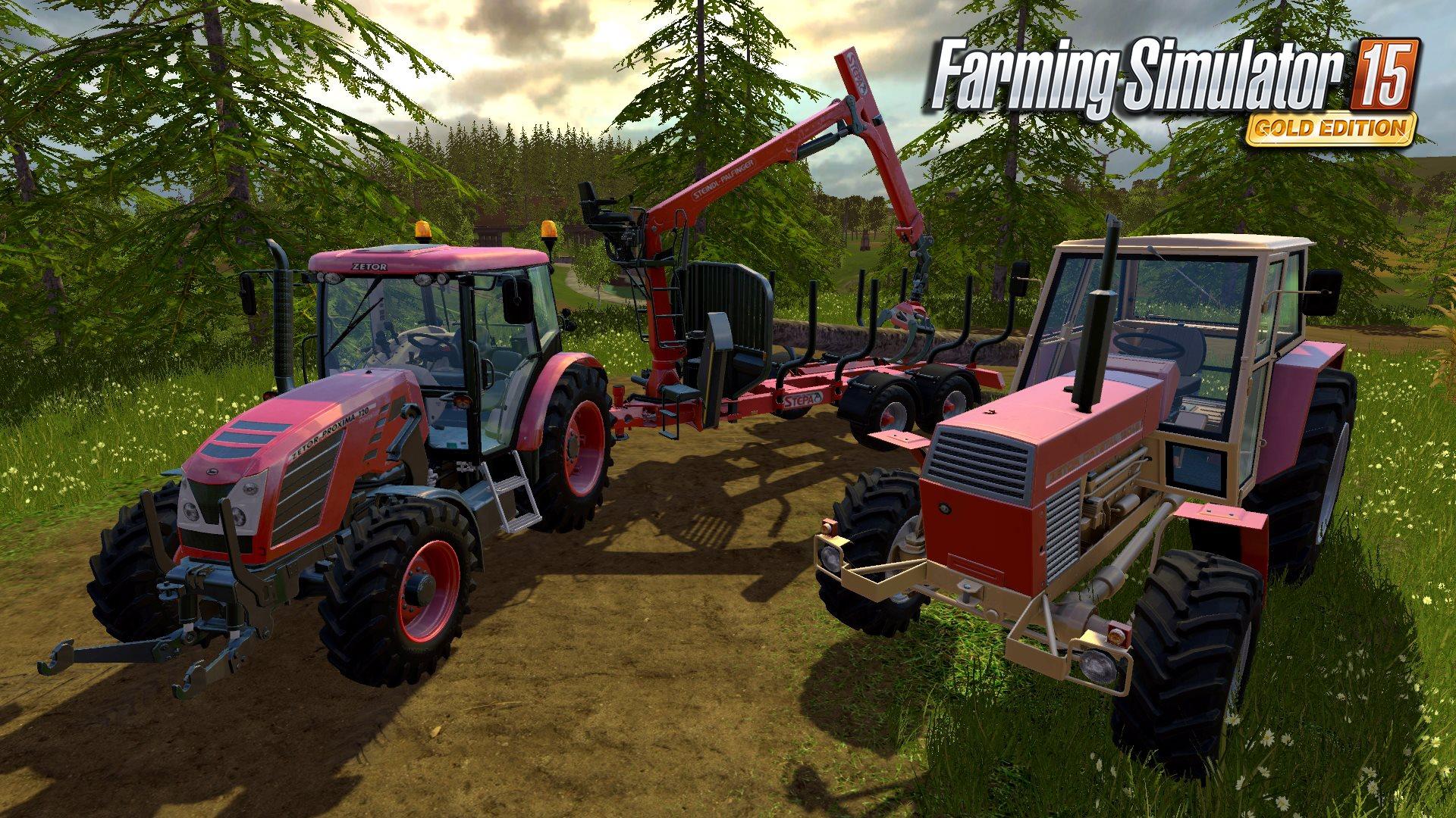 Čtyři obrázky z Farming Simulatoru 15 GOLD 114727