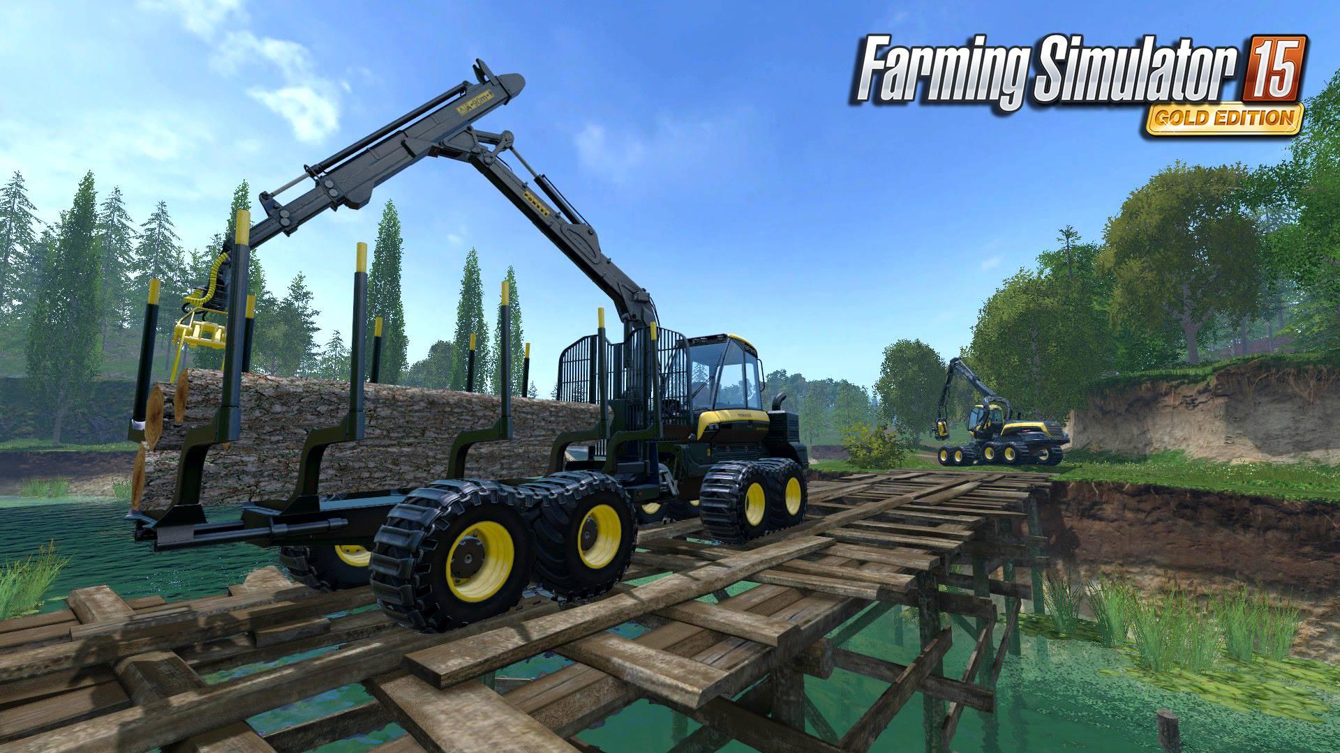 Čtyři obrázky z Farming Simulatoru 15 GOLD 114728
