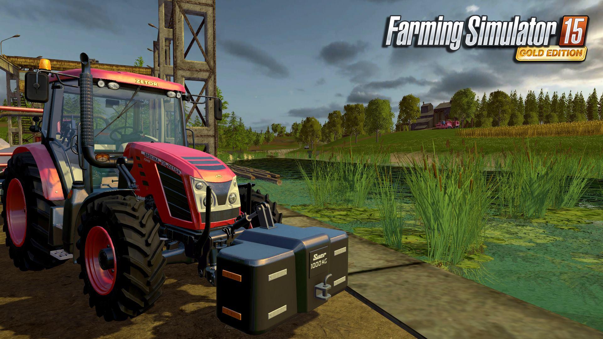 Čtyři obrázky z Farming Simulatoru 15 GOLD 114729