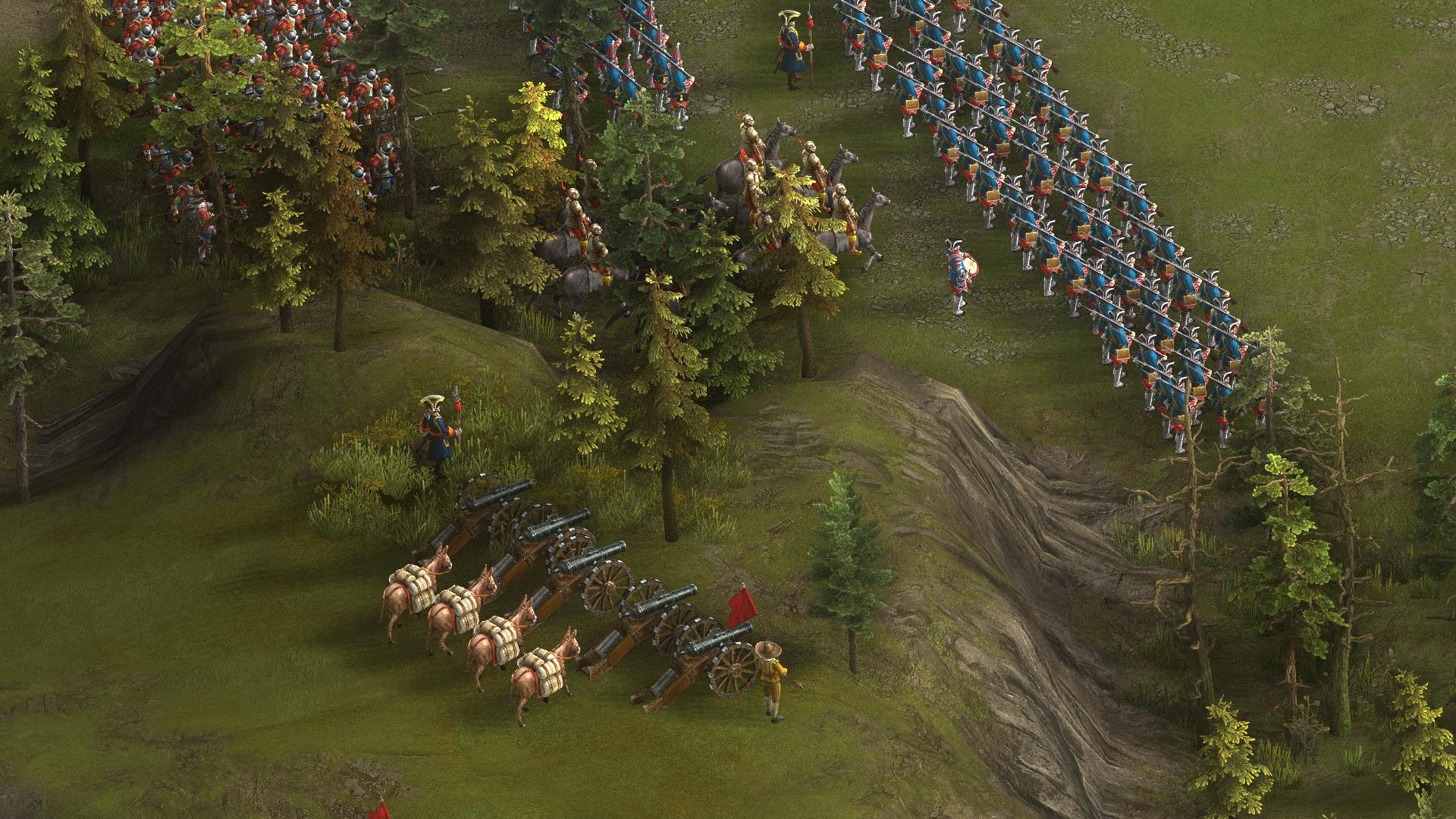 Po dlouhé době obrázky z Cossacks 3 114750