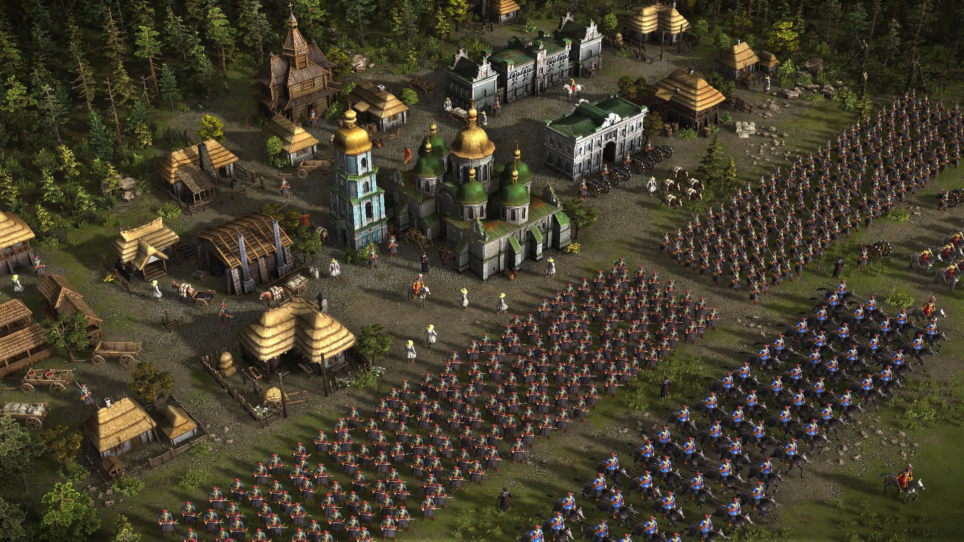 Po dlouhé době obrázky z Cossacks 3 114756