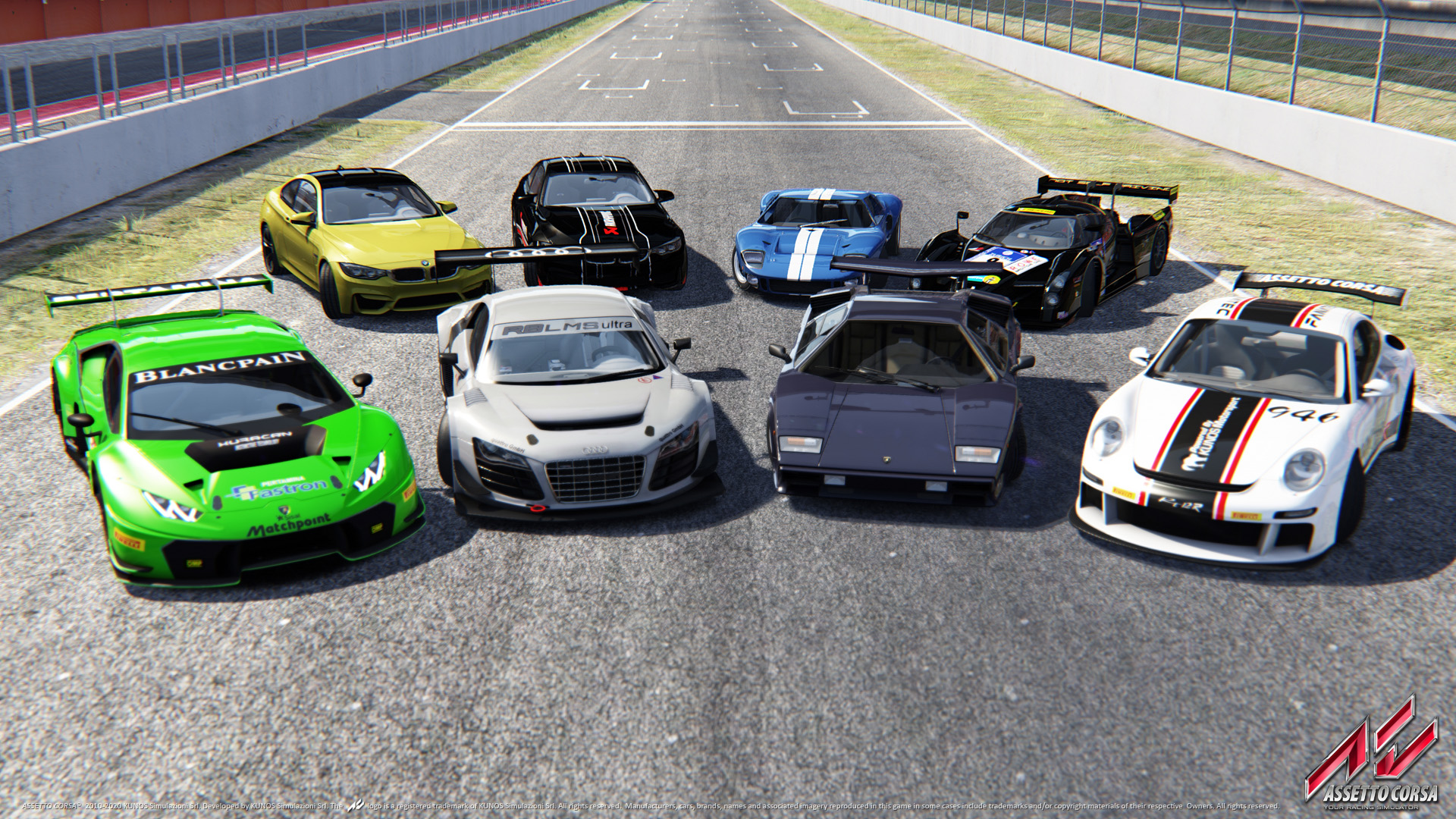 Devět nových vozů a spousta vylepšení pro Assetto Corsa 114826