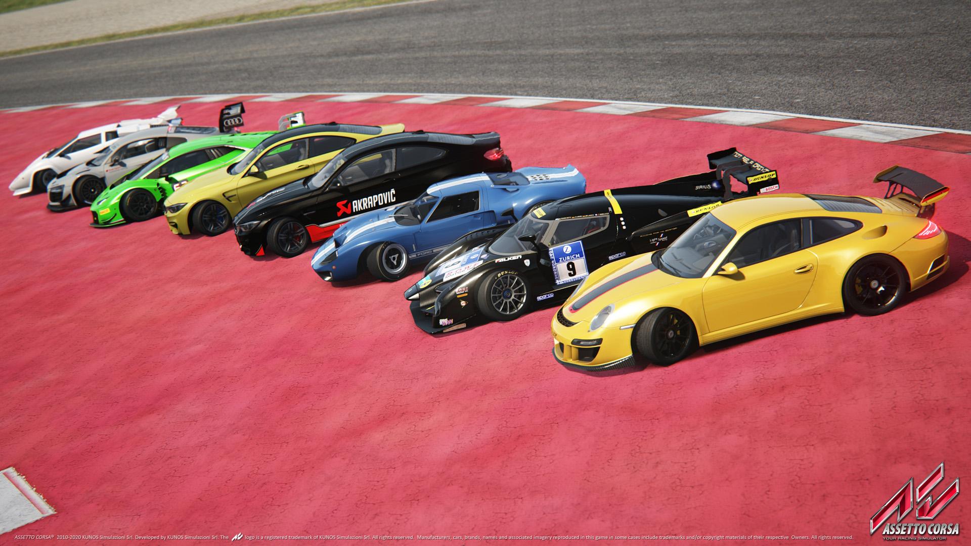 Devět nových vozů a spousta vylepšení pro Assetto Corsa 114827
