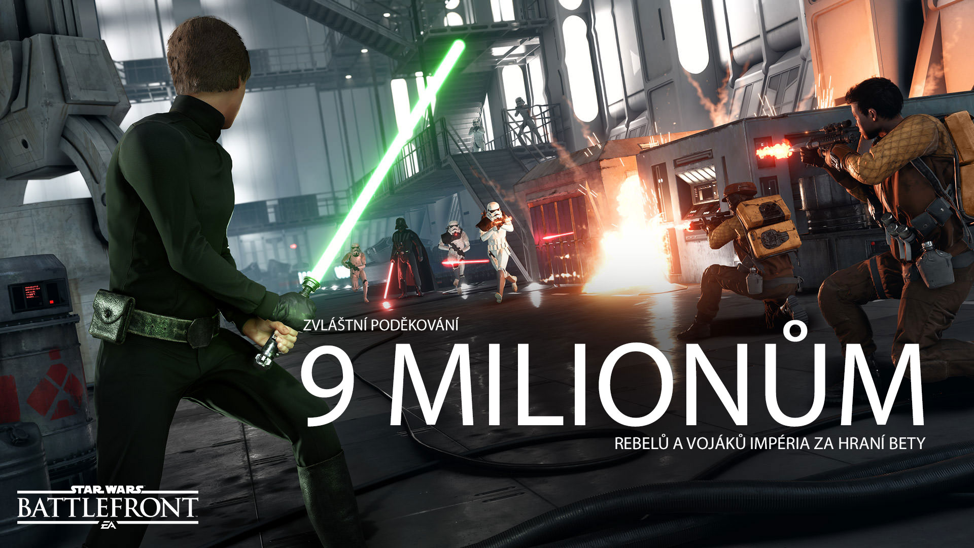 9 milionů Rebelů a Imperialistů hrálo betu Star Wars: Battlefront 114887