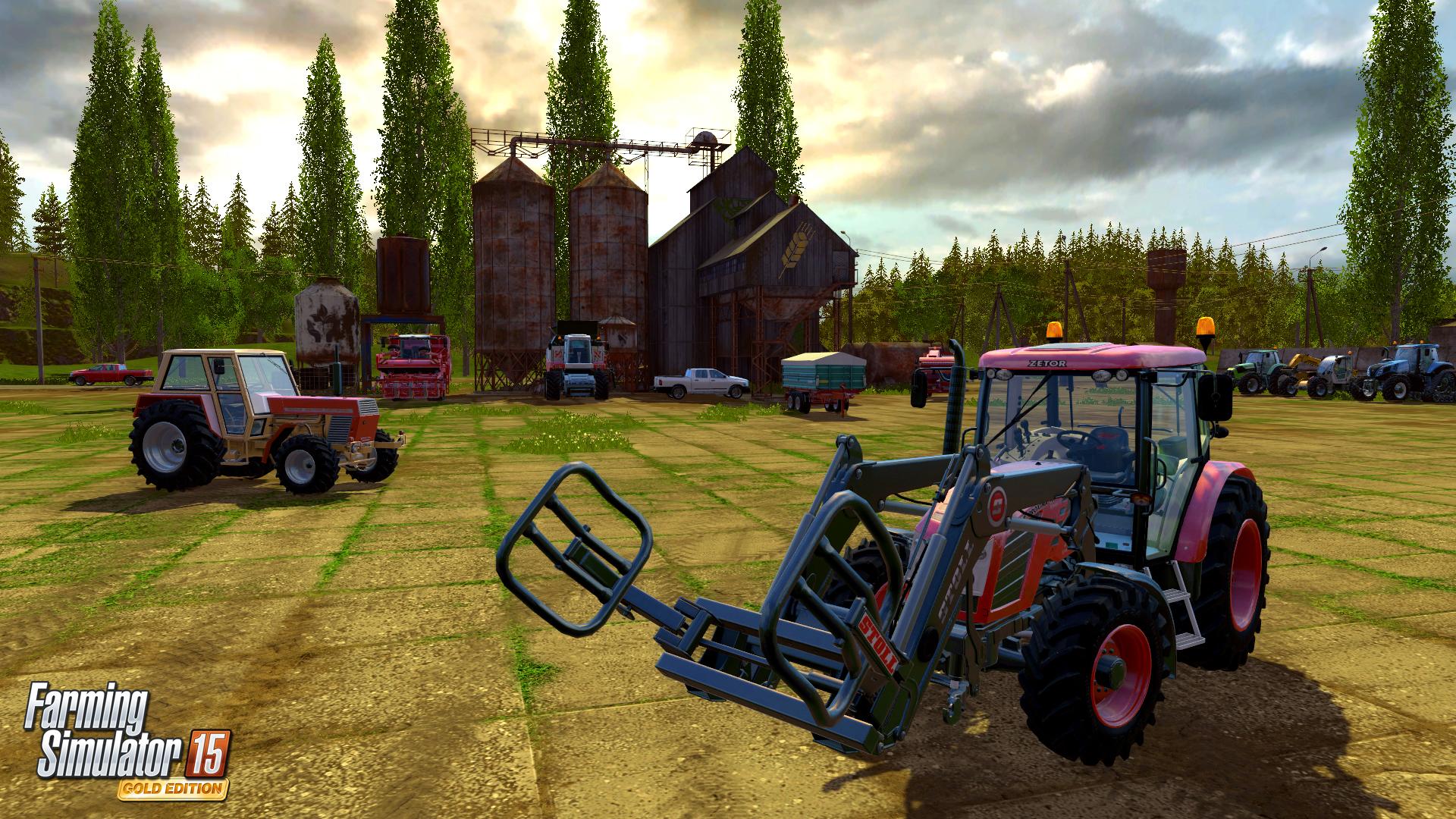 Čtyřikrát z Farming Simulatoru 15 GOLD 114991