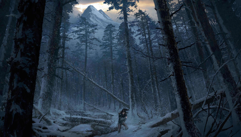 Bonusové karty a artworky z Rise of the Tomb Raider 115021