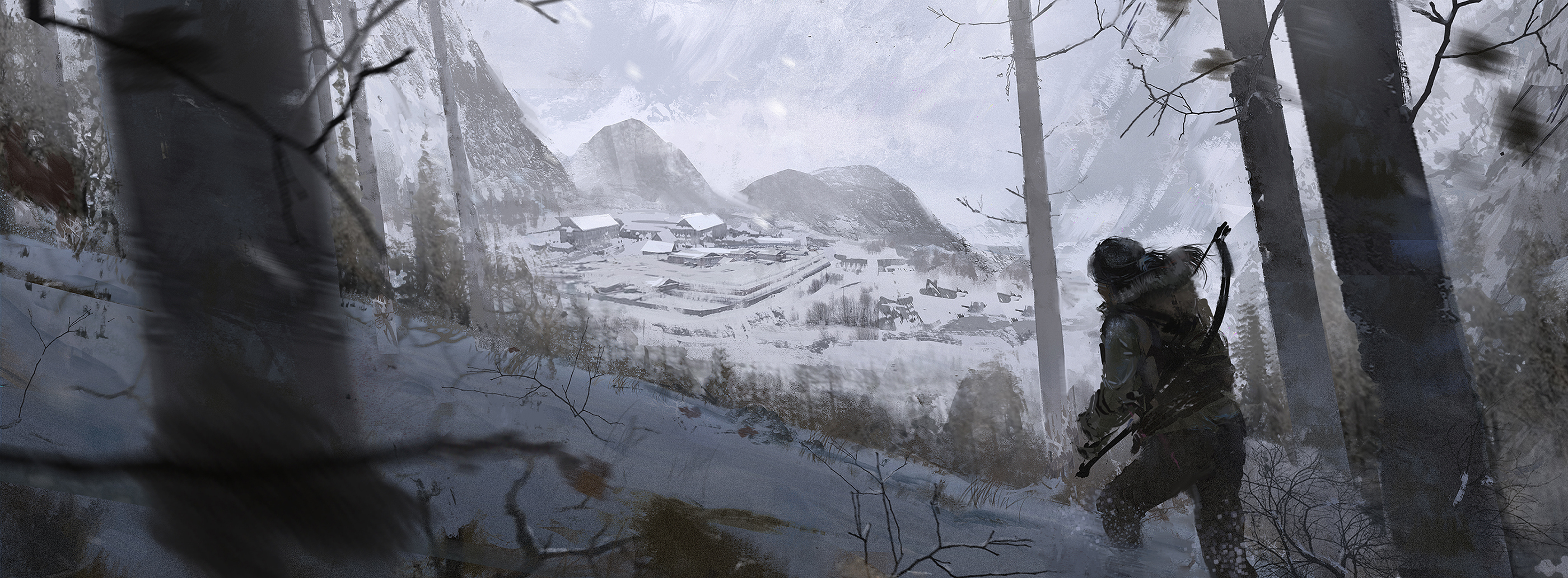 Bonusové karty a artworky z Rise of the Tomb Raider 115023