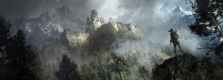 Bonusové karty a artworky z Rise of the Tomb Raider 115028