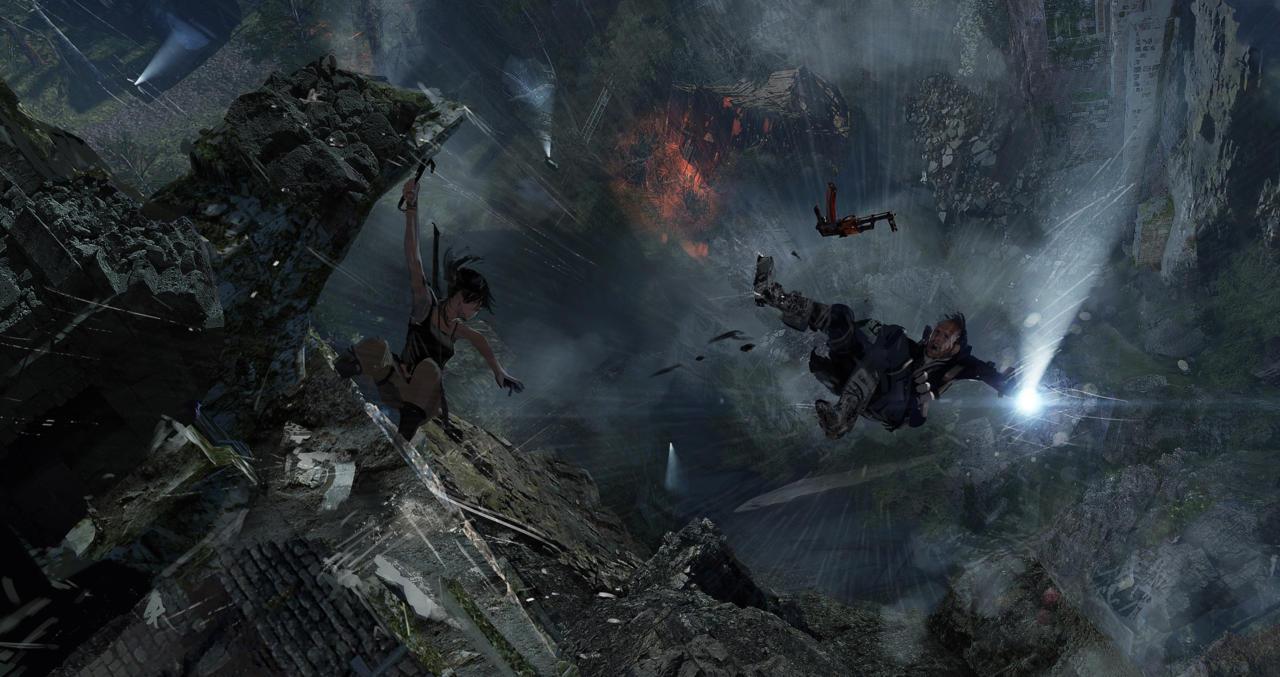 Bonusové karty a artworky z Rise of the Tomb Raider 115030