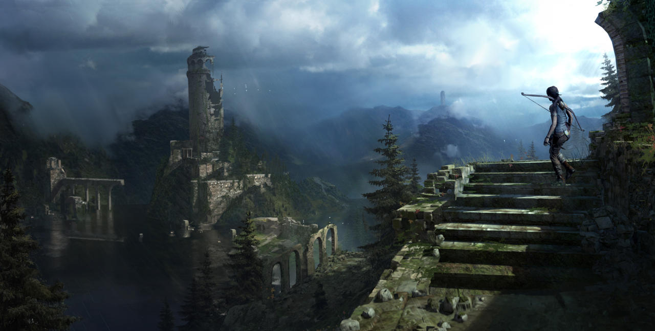 Bonusové karty a artworky z Rise of the Tomb Raider 115031
