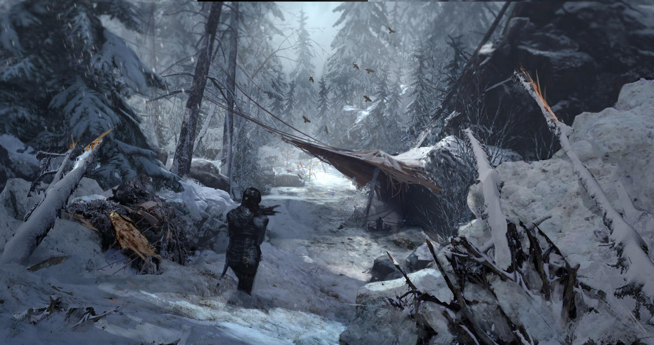 Bonusové karty a artworky z Rise of the Tomb Raider 115032
