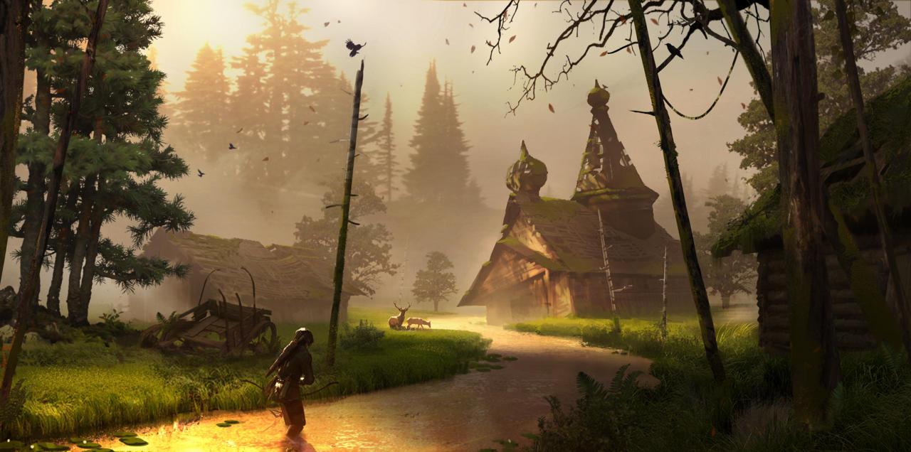 Bonusové karty a artworky z Rise of the Tomb Raider 115033