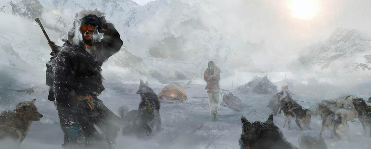Bonusové karty a artworky z Rise of the Tomb Raider 115034