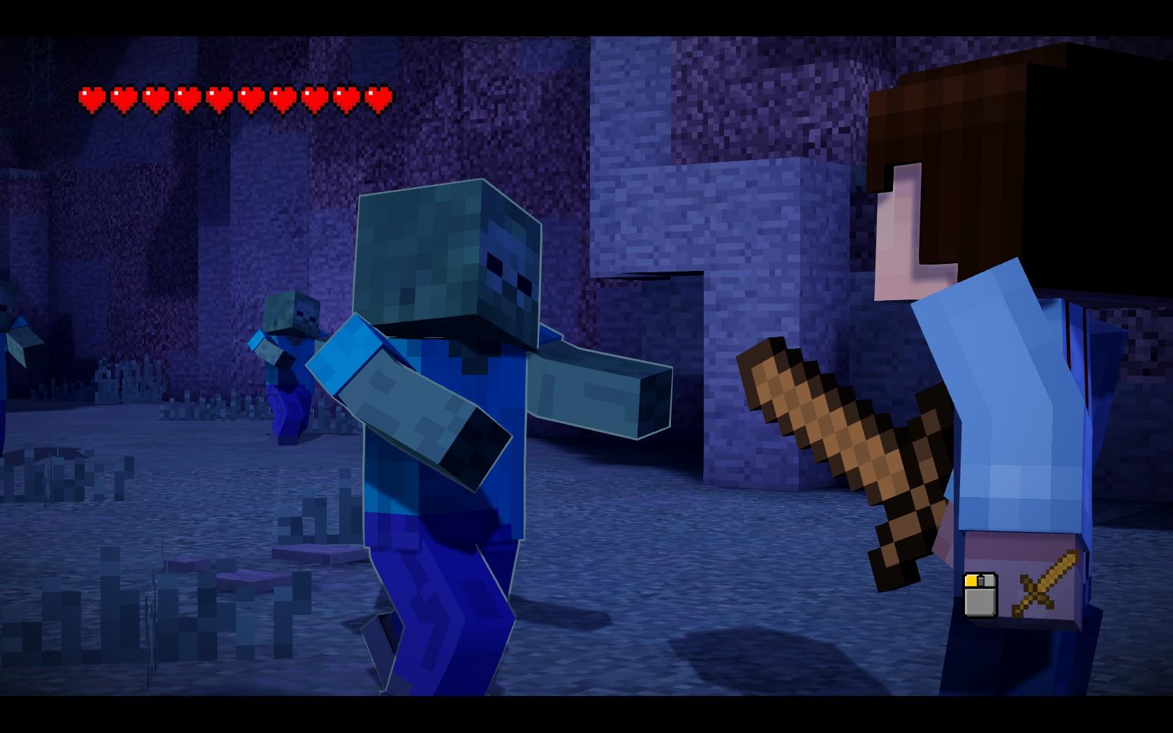 Minecraft: Story Mode - hranatý úvod 115041
