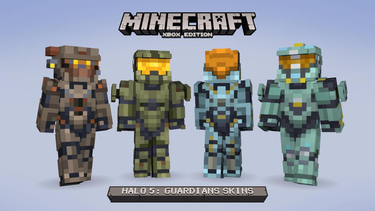 V Minecraftu začíná válka mezi Master Chiefem a Spartanem Lockem 115175